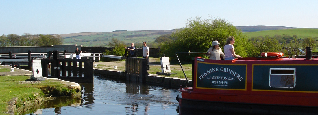 Skipton Canal Locks