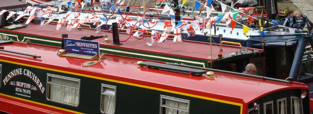 Pennine Cruisers at the Skipton Waterways Festival