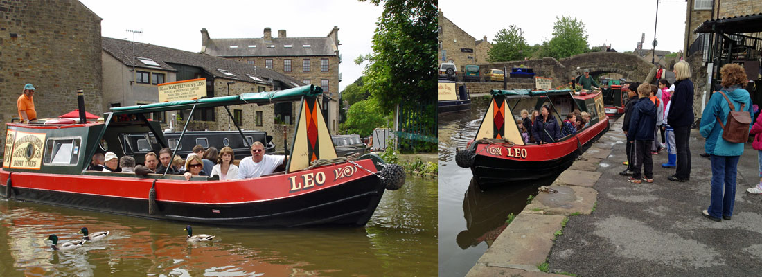 Narrow boat trips from Skipton on the Leeds & Liverpool Canal